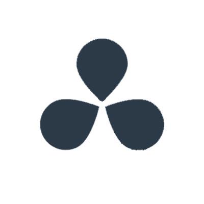 logo du logiciel de montage gratuit davinci resolve 14