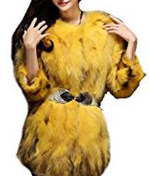 image d'un manteau jaune comme nicky minaj