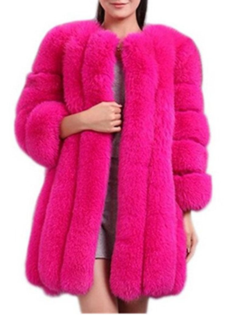 image d'un manteau rose comme nicky minaj
