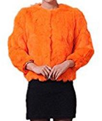 image d'une veste orange comme nicky minaj