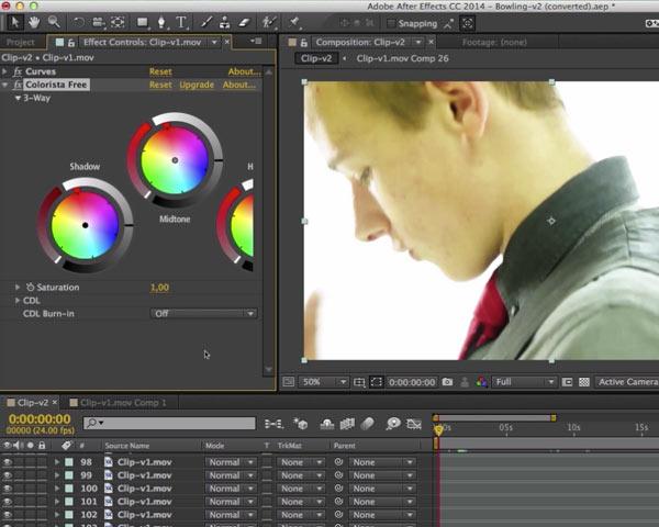 Color grading avec un outil gratuit ultra performant