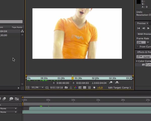 Découpage et sélection d'un morceau de vidéo