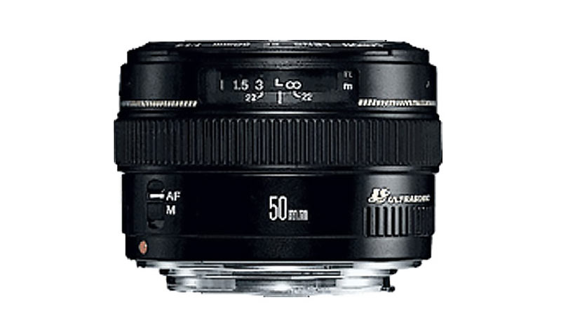 Objectif Canon Focale fixe 50mm