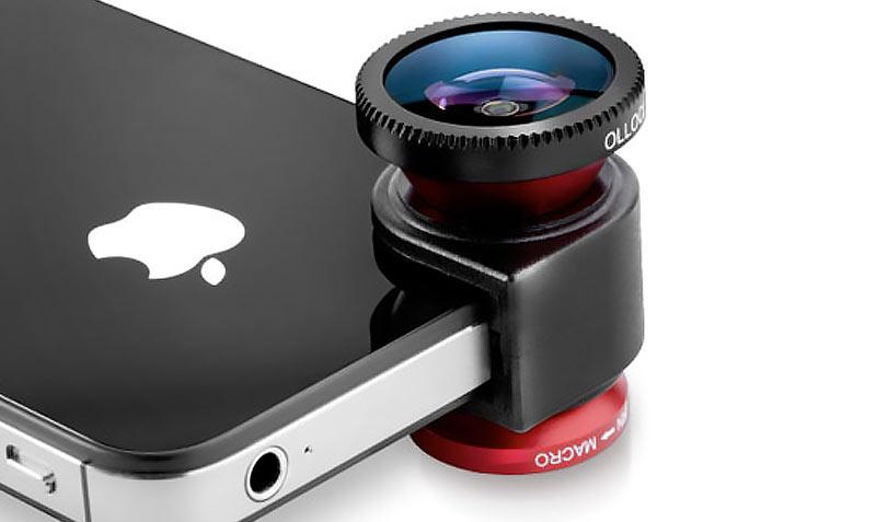 Optique iphone 4S olloclip 3 en 1