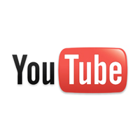Logo Youtube pour son logiciel de montage vidéo gratuit.