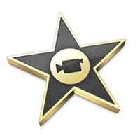 Logo du logiciel de montage gratuit iMovie d'Apple