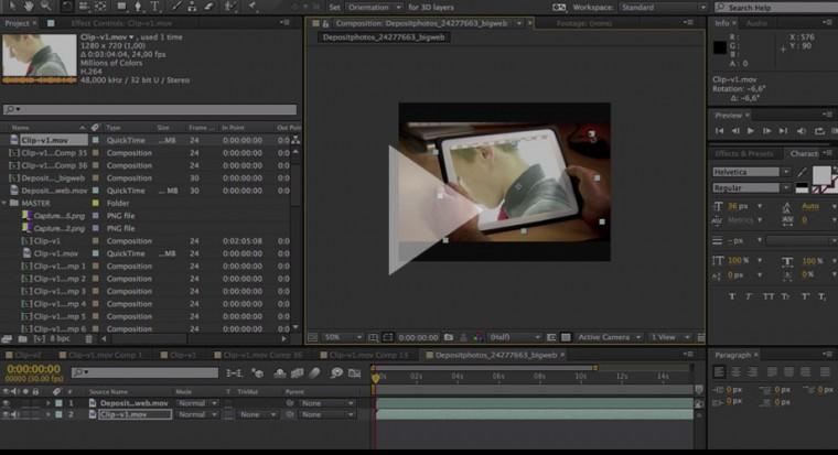illustration de l'article sur comment insérer une vidéo dans une autre vidéo pour un clip vidéo musical