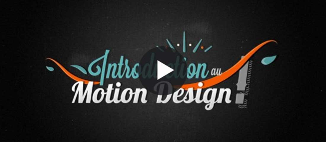 Introduction au motion design dans After Effects
