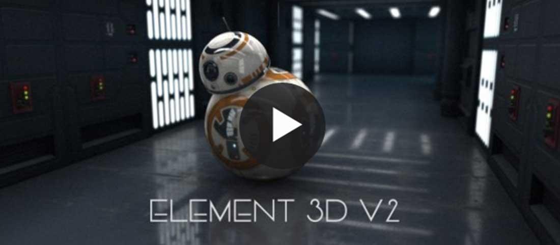 Rendu réaliste avec Element 3D 2