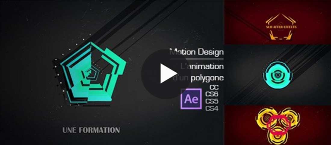 Animation de polygone dans after effects