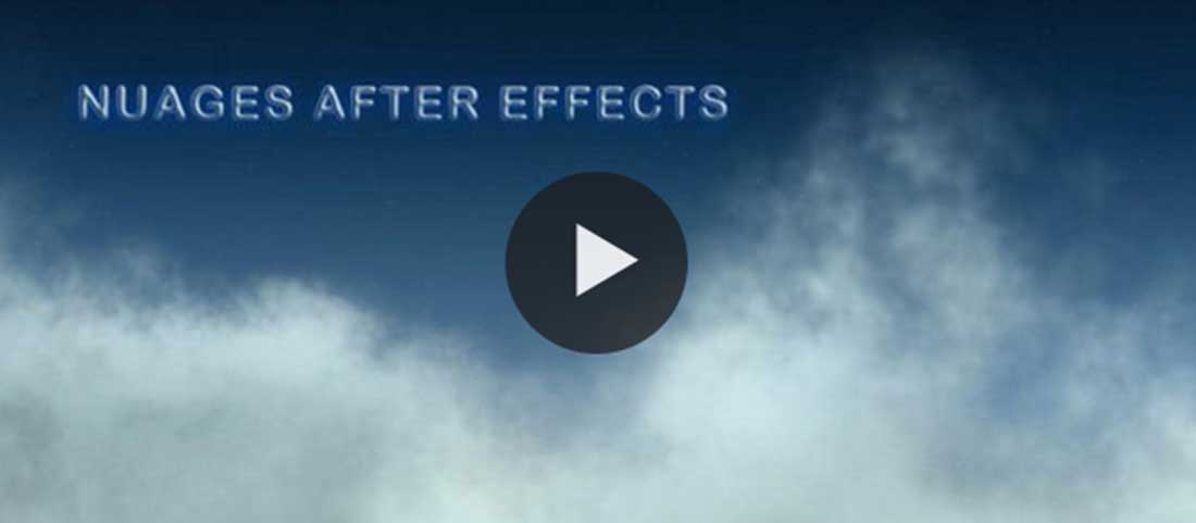 Créer des nuages dans After Effects