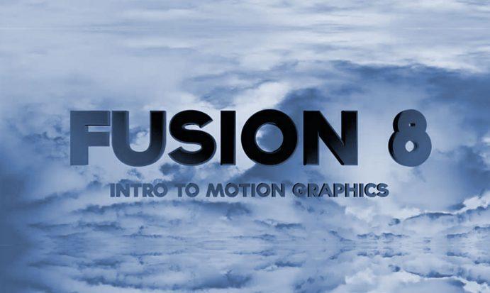 """Illustration du texte """"Comment intégrer un titre en mouvement sur un fond avec Fusion 8"""""""