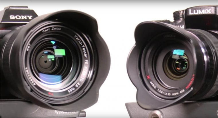 Article Sony A7s vs Panasonic GH4 : le combat des chefs