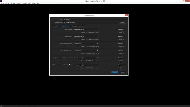 Démarrage dans Premiere Pro CC