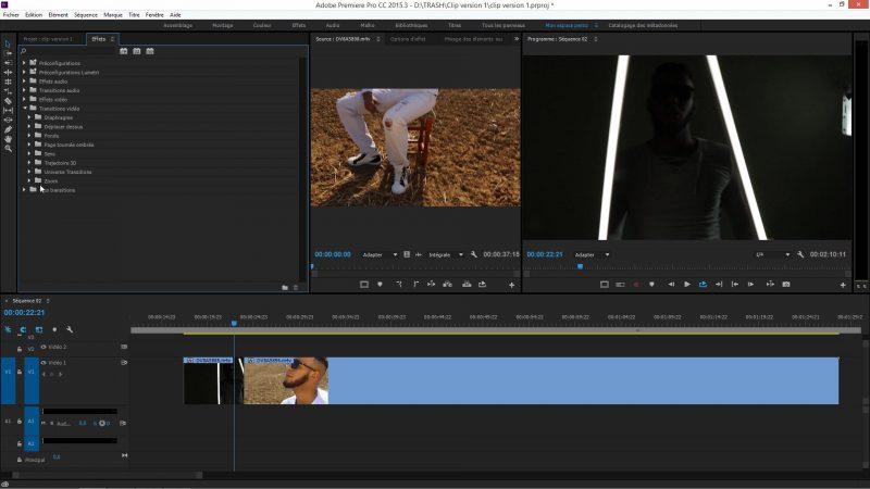 Application d'effets dans Premiere Pro CC