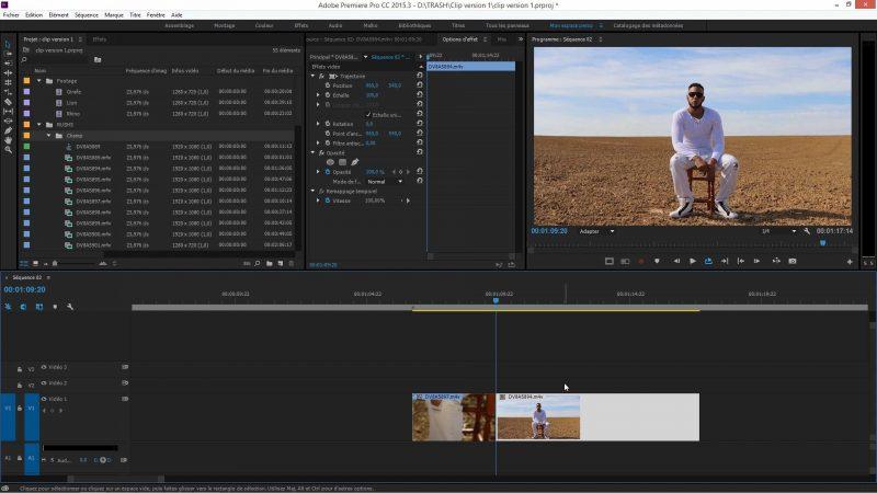 Animation dans Premiere Pro