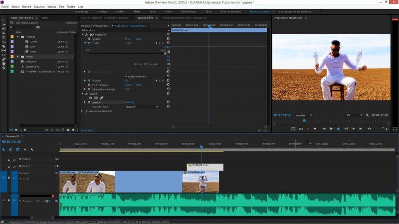 Effet Echo dans Premiere Pro CC