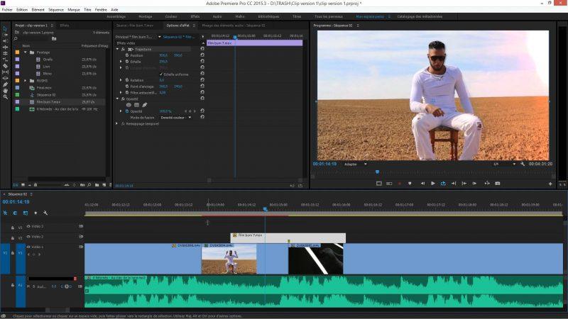 Effet Shake et Zoom dans Premiere Pro CC