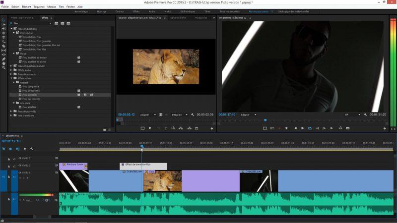 Utilisation de calque d'effet dans Premiere Pro CC