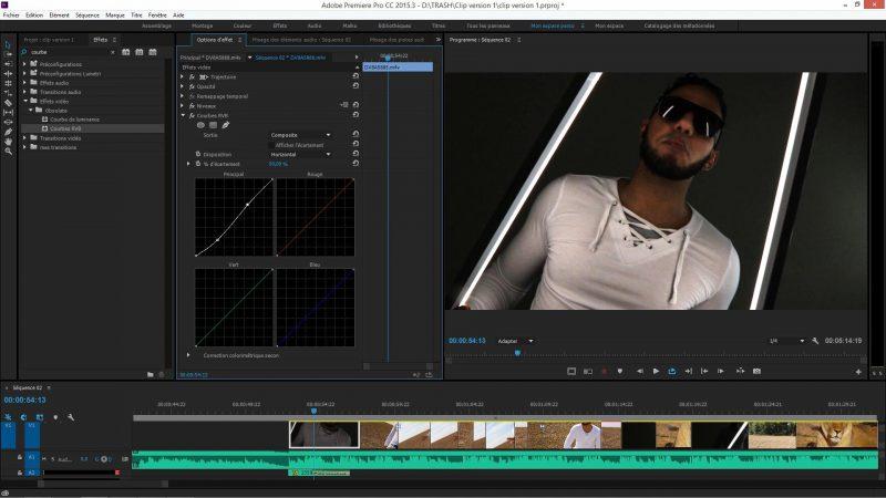 Correction colorimétrique dans Premiere Pro CC
