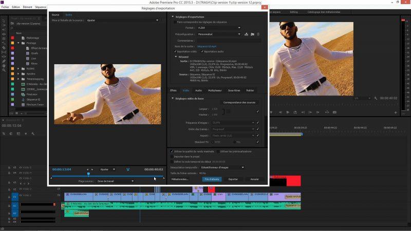Les codecs dans Premiere Pro CC