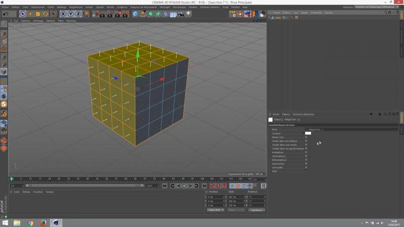 Sélection de points , arêtes et polygones