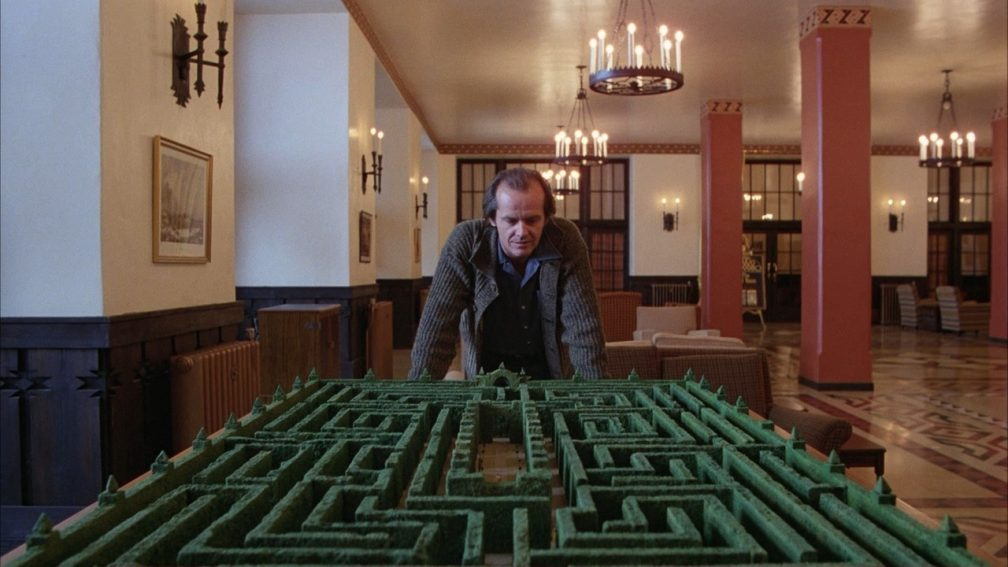 Extrait de The Shining de Stanley Kubrick