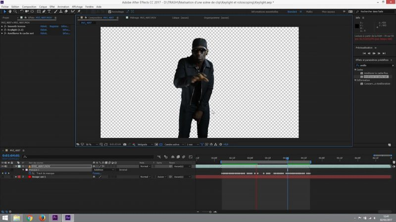 Affiner le rotoscoping