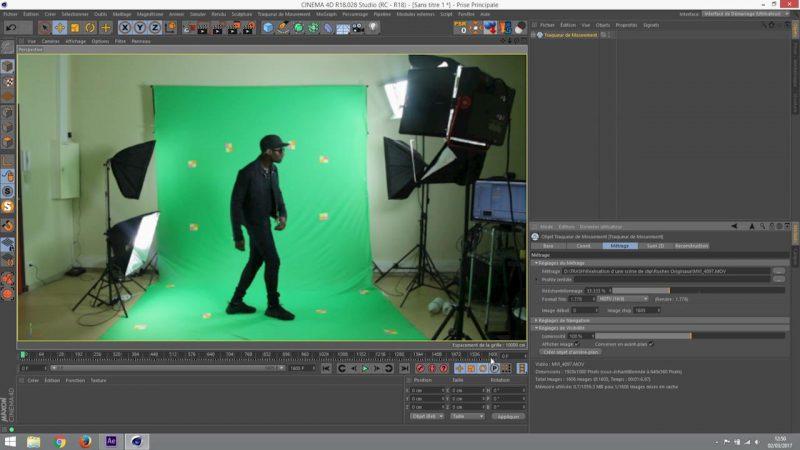 Mise en place du tracking 3D