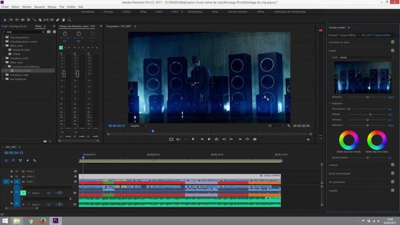 Rendu et exportation du clip final