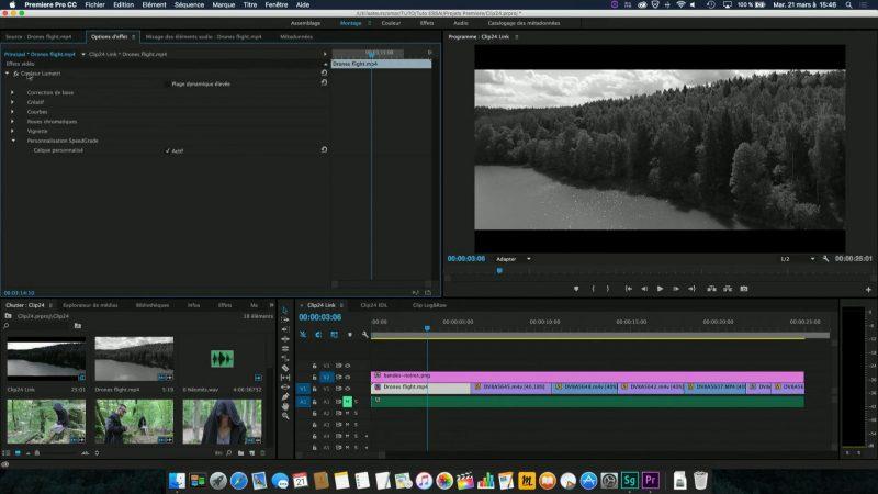 Retour vers Premiere Pro avec le dynamic link