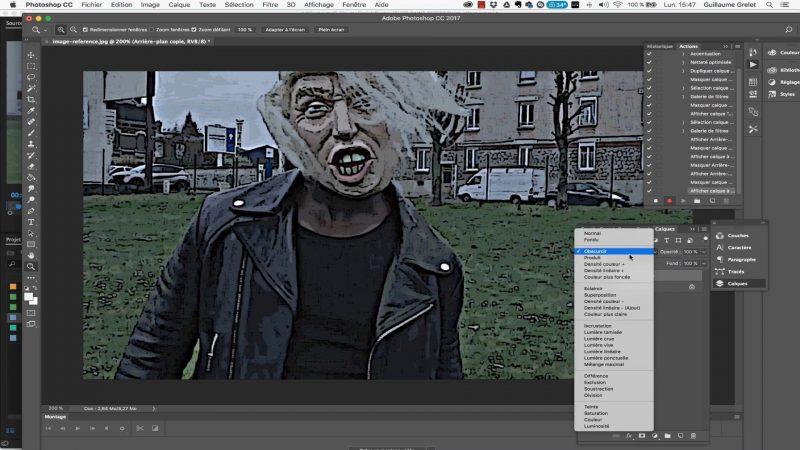 7 - Traitement dans Photoshop et automatisation