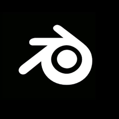 logo du logiciel de montage vidéo blender