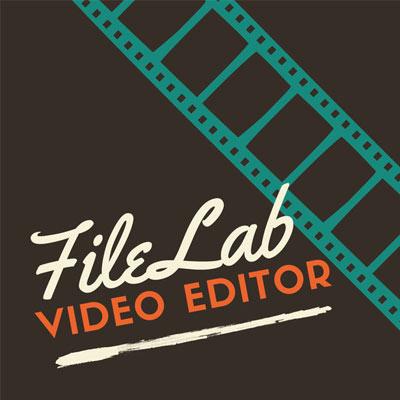 logo du logiciel de montage vidéo filelab video editor