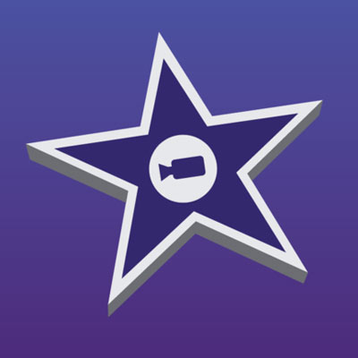 logo du logiciel de montage vidéo imovie