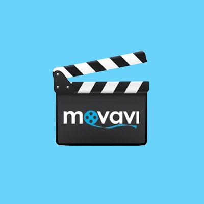 logo du logiciel de montage vidéo Movavi
