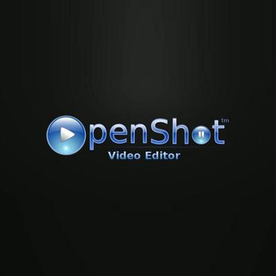 logo du logiciel de montage vidéo openshot editor
