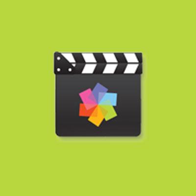 logo du logiciel de montage vidéo pinnacle video spin