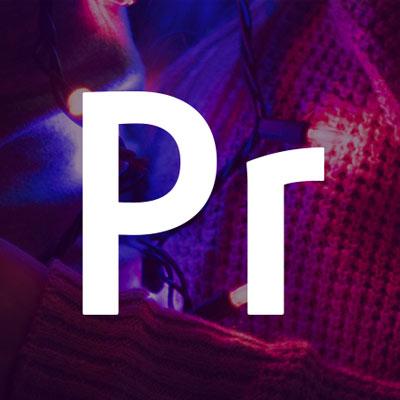 logo du logiciel de montage premiere pro