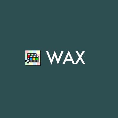logo du logiciel de montage vidéo wax