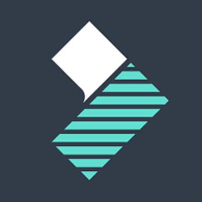 logo du logiciel de montage video filmora