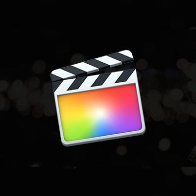 logo du logiciel de montage final cut pro