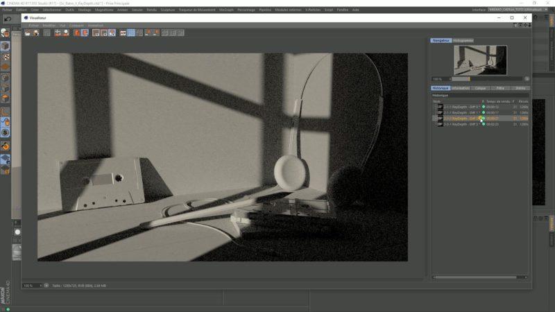 Créer un effet «Retro Gold Scene» avec Arnold Renderer