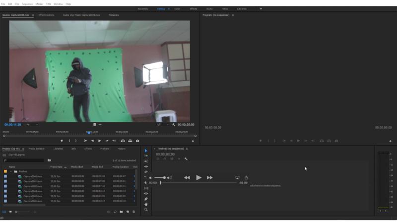 Création de sous-clips, parties utiles pour le montage
