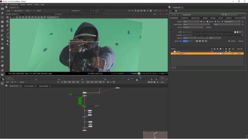 Track 3D de la camera avec le Camera Tracker de Nuke