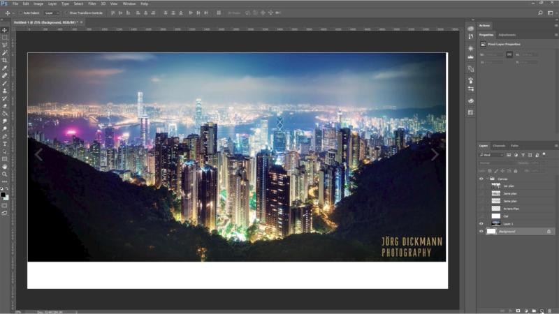 Présentation de références, création d'un canva du matte de ville et présentation de sites où chercher des photos