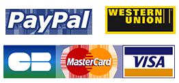 Ce site propose le paiement sécurisé par carte bancaire ou compte paypal via le service paypal